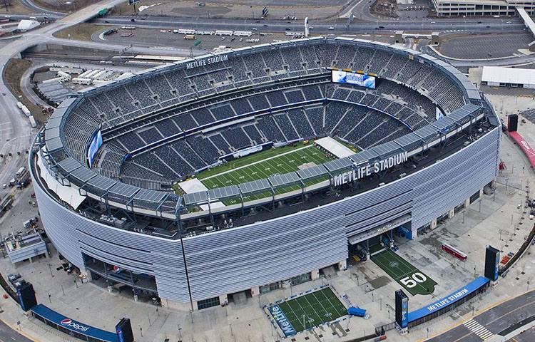 stadion MetLife Stadium New Jersey USA największe stadiony świata piłka nożna