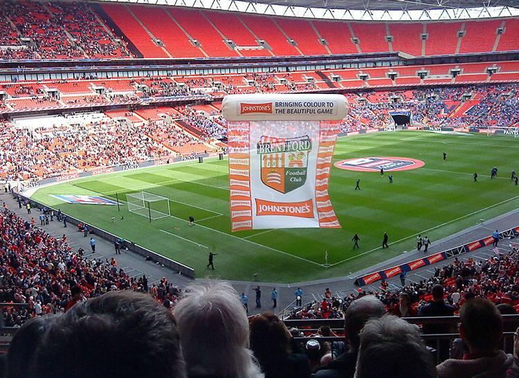 stadion Wembley Londyn Anglia największe stadiony świata piłka nożna