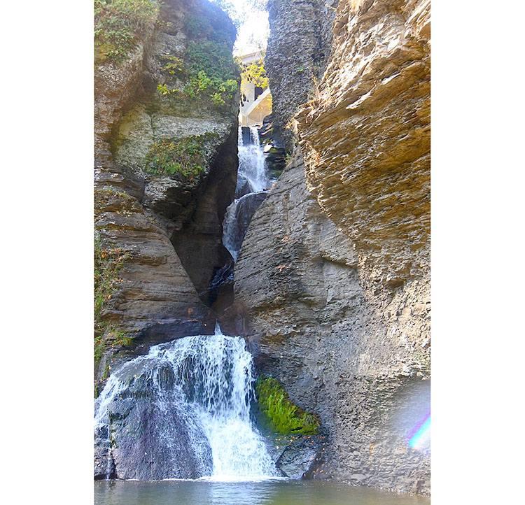 wodospad waterfall Catskill Mountains Nowy Jork góry
