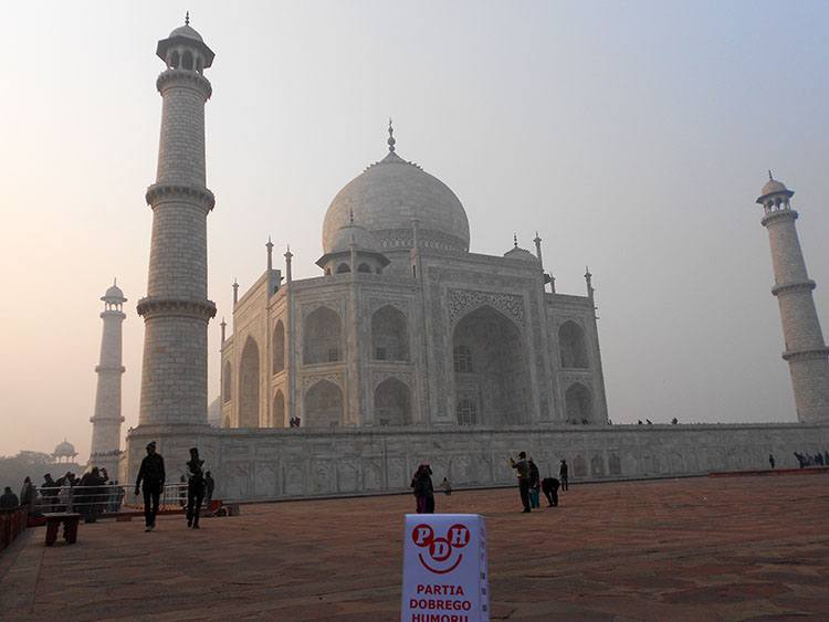 Agra Indie Tadź Mahal podróże po świecie świat
