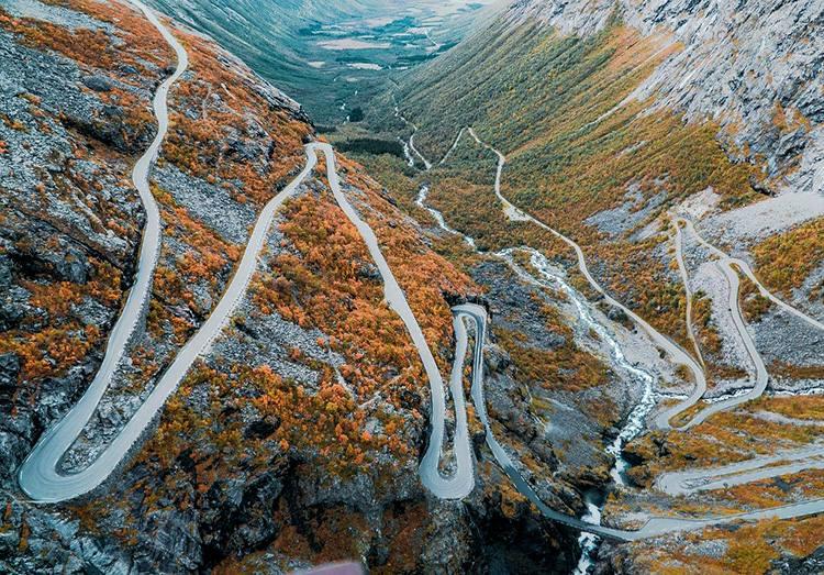Droga trolli Norwegia ciekawostki atrakcje