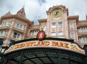 Eurodisneyland Park Paryż Francja parki rozrywki Europa ciekawostki