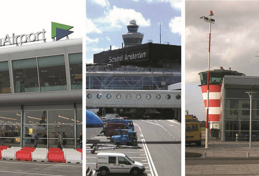 Holandia lotniska samoloty lotniska Netherlands Holland