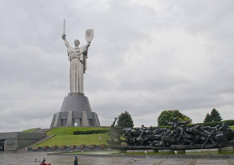 Kijów Matka Ojczyzna Ukraina ciekawostki o Ukrainie informacje