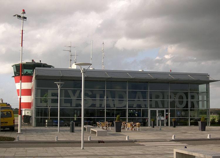 Lelystad Holandia lotniska samoloty lotniska Netherlands Holland