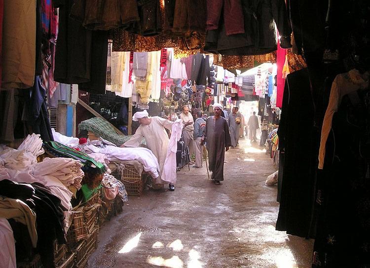 Luksor bazar Egipt ciekawostki atrakcje zabytki informacje wakacje