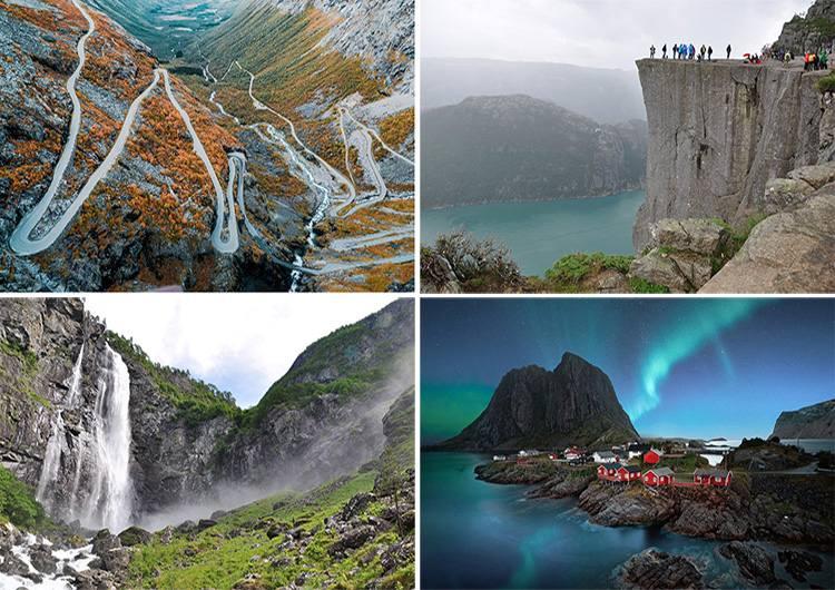 Norwegia ciekawostki atrakcje Skandynawia turystyka