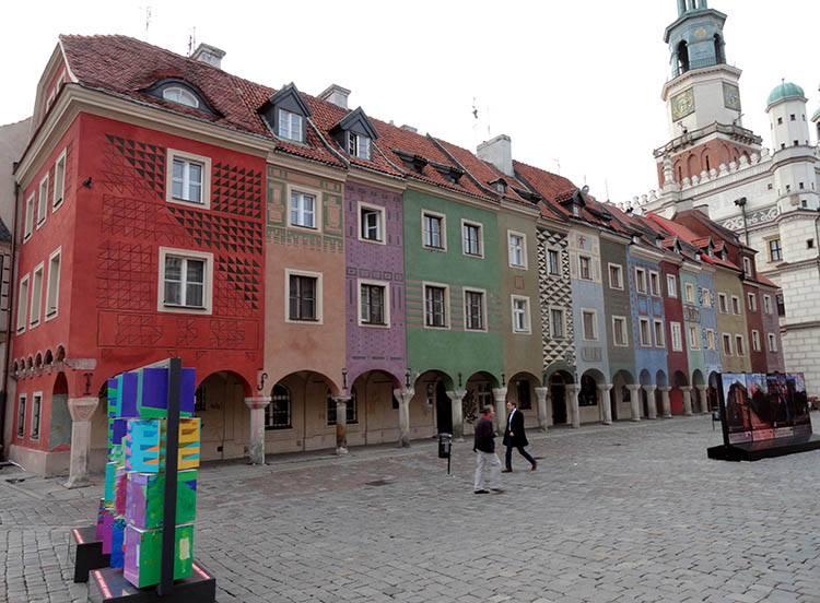 domki budnicze Poznań ciekawostki o Poznaniu miasto Wielkopolska