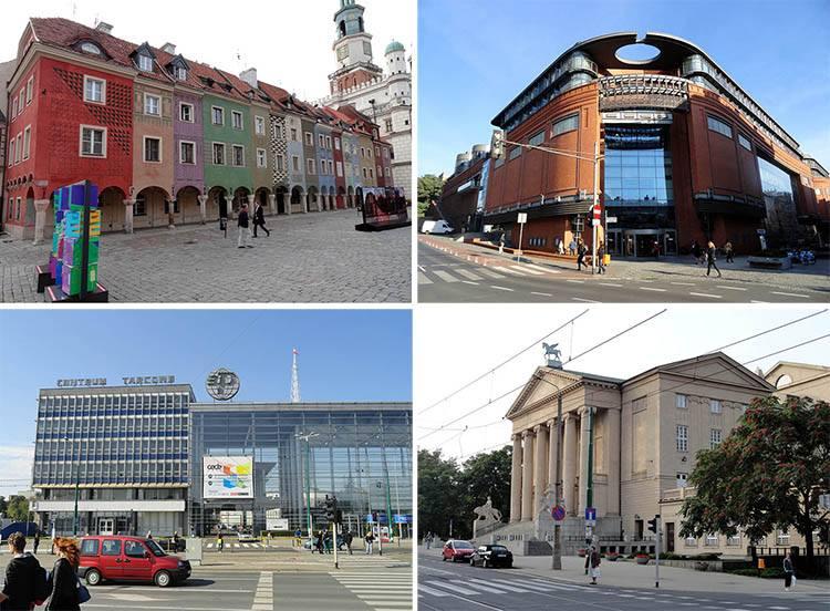 Poznań ciekawostki o Poznaniu miasto Wielkopolska budynki zabytki