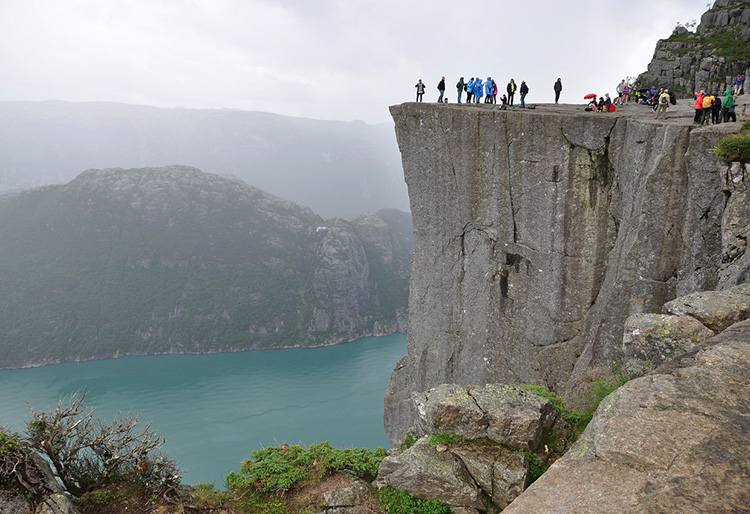Preikestolen Norwegia ciekawostki atrakcje