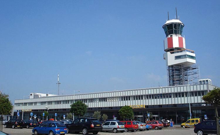 Rotterdam Holandia lotniska samoloty lotniska Netherlands Holland