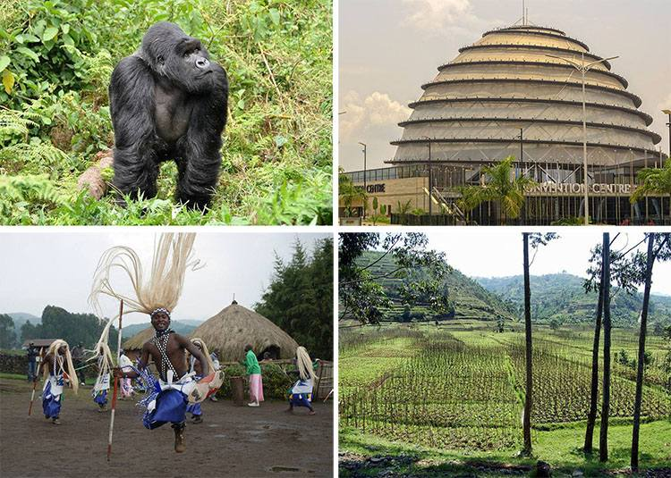 Rwanda ciekawostki Afryka państwo informacje