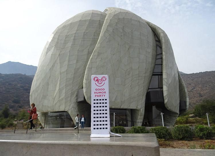 Santiago Chile Templo Bahai podróże po świecie świat