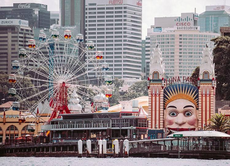 Sydney Australia parki rozrywki świat ciekawostki informacje