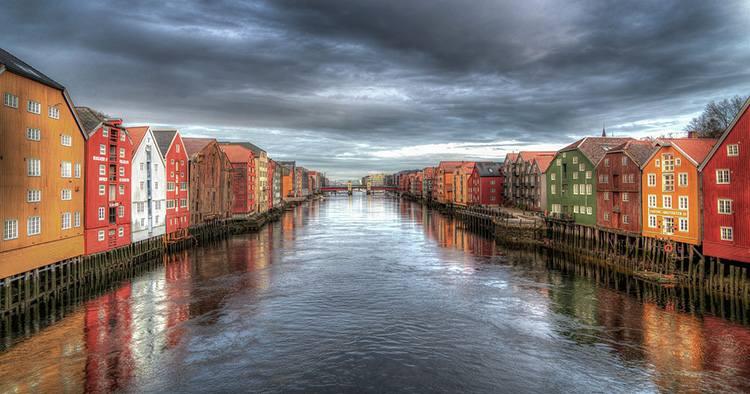Trondheim Norwegia ciekawostki atrakcje wycieczki
