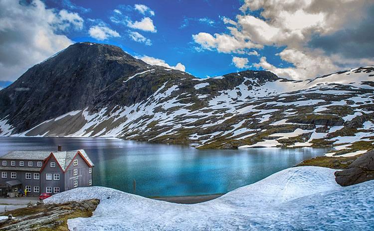 zima krajobraz Norwegia ciekawostki