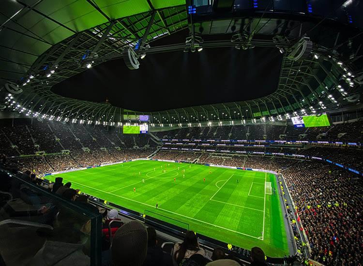 Liga Mistrzów stadion piłka nożna ciekawostki