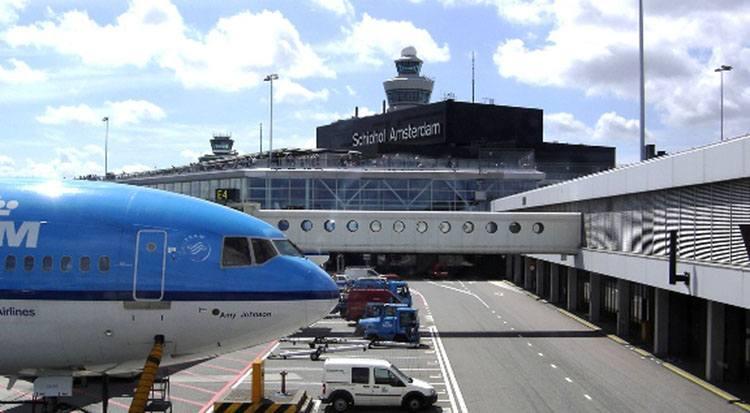 Schipol Amsterdam olandia lotniska samoloty lotniska Netherlands Holland