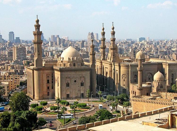 meczet Kair  Egipt ciekawostki atrakcje zabytki informacje wakacje