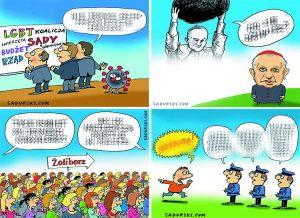 rysunki Szczepan Sadurski ekskluzywny wywiad satyryk karykaturzysta