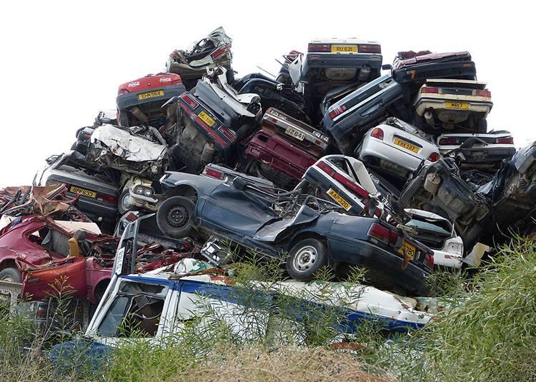 złomowanie samochodów ciekawostki aut auto złom szrot
