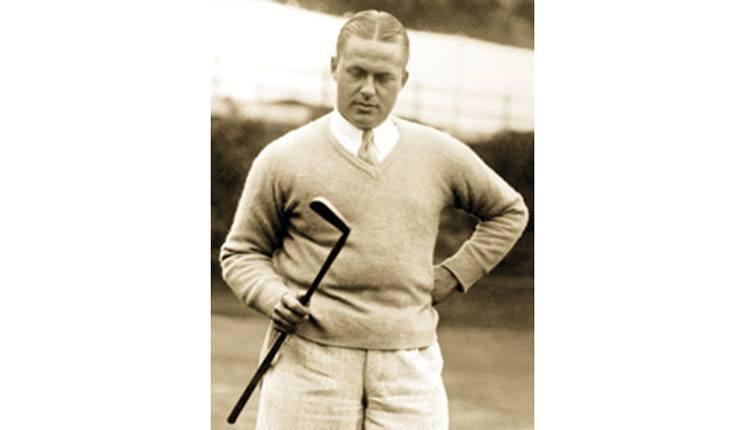 Bobby Jones 1930 znani golfiści gra golf gracze zawodnicy