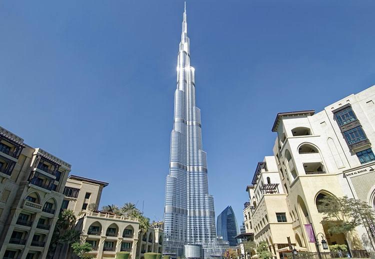 Burj Khalifa Dubaj ciekawostki Zjednoczone Emiraty Arabskie