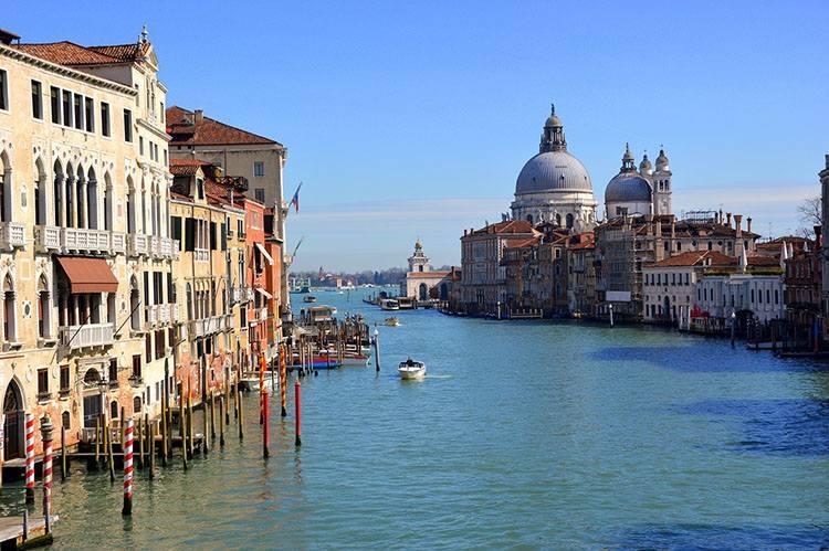 Canale Grande Wenecja ciekawostki Włochy zabytki
