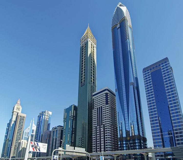 wieżowce Dubaj ciekawostki Zjednoczone Emiraty Arabskie