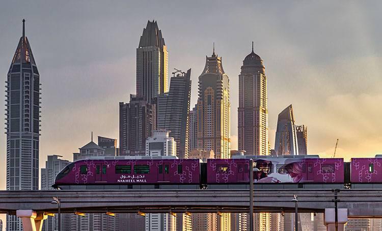 metro Dubaj ciekawostki Zjednoczone Emiraty Arabskie