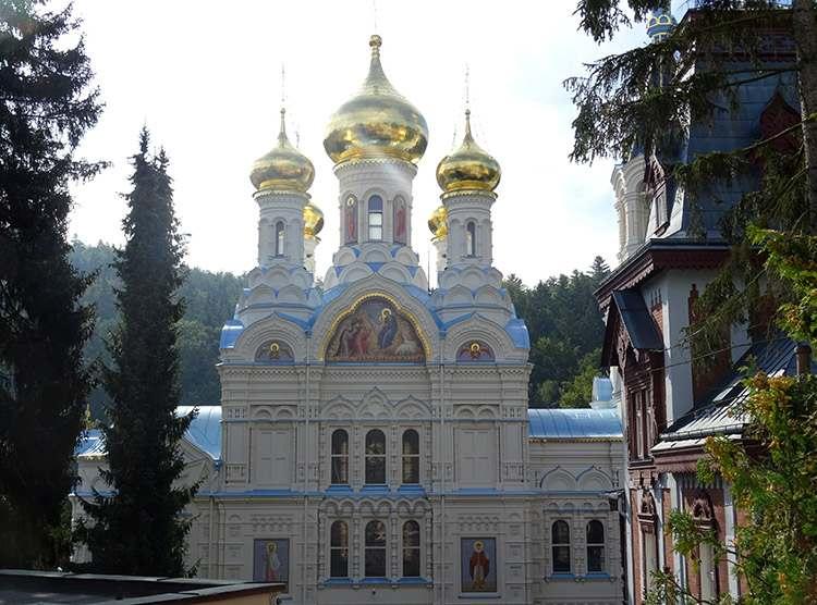 Karlowe Wary cerkiew