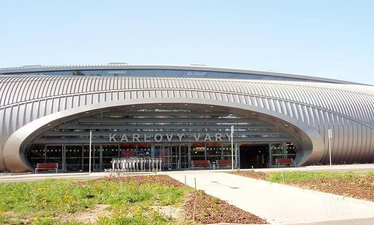 Karlowe Wary lotnisko Czechy