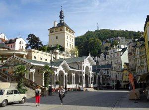 Karlowe Wary uzdrowisko Czechy ciekawostki centrum