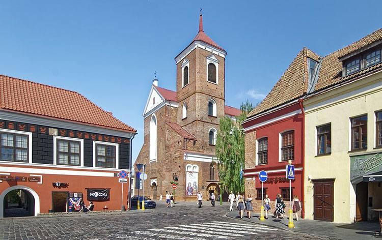 Kowno katedra Litwa ciekawostki zabytki