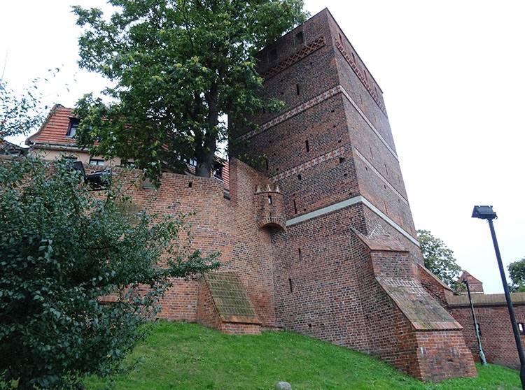 Krzywa Wieża Toruń ciekawostki atrakcje zabytki