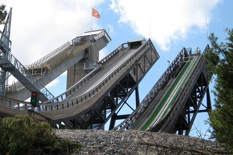 Lahti Finlandia skocznie narciarskie sporty zimowe sport zima