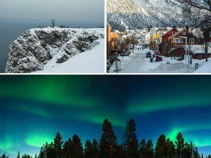 Laponia ciekawostki informacje zorza polarna
