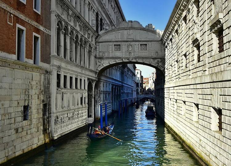 Most Westchnień Wenecja ciekawostki Włochy zabytki