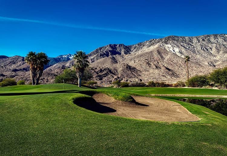 Palm Springs golf słynne znane pola golfowe