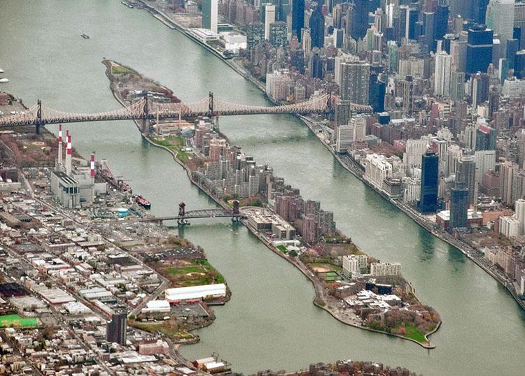 Roosevelt Island ciekawostki Nowy Jork NYC Manhattan