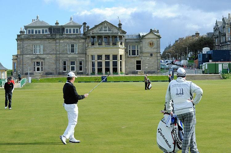 St Andrews Szkocja golf słynne znane pola golfowe