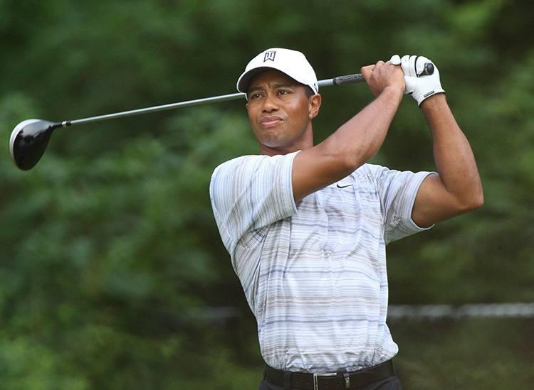Tiger Woods znani golfiści gra golf gracze zawodnicy