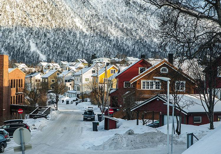 Tromso Norwegia Laponia ciekawostki informacje zorza polarna