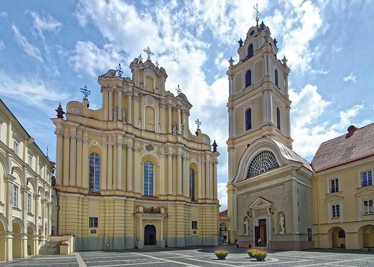 Wilno centrum Litwa ciekawostki atrakcje