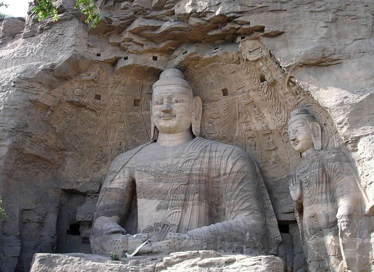 Yungang groty Chiny Budda ciekawostki