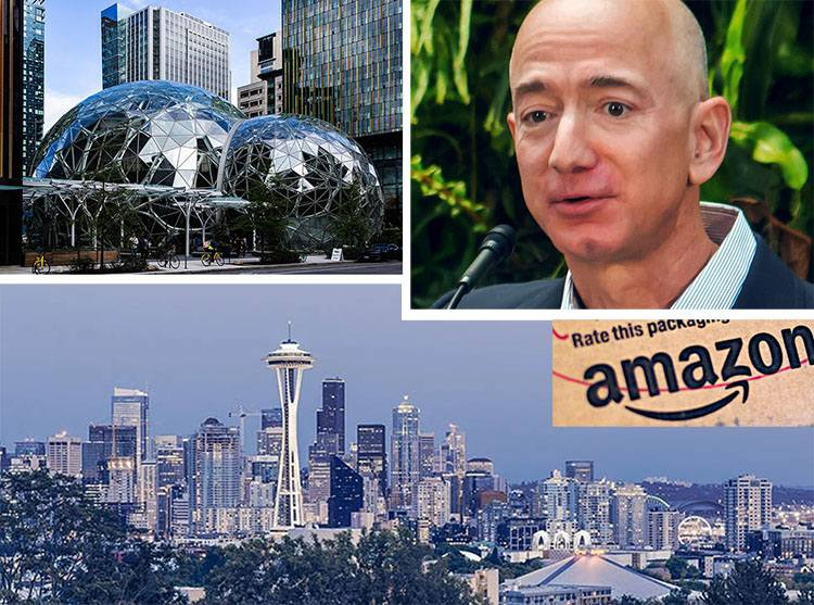 firma Amazon ciekawostki informacje Jeff Bezos