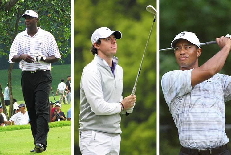 znani golfiści gra golf gracze zawodnicy