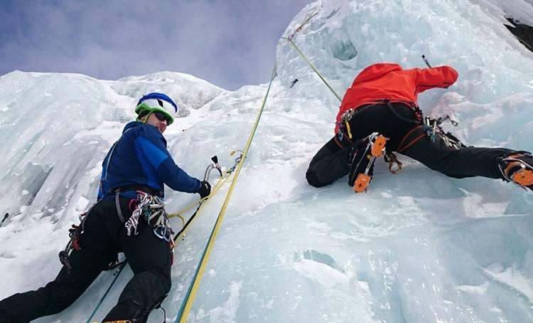 iceclimbing sporty zimowe sport ciekawostki zima dyscypliny sportowe