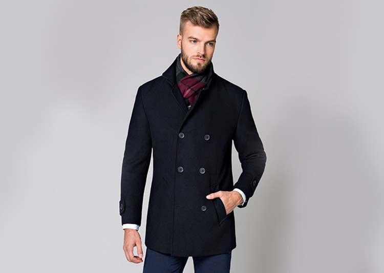 płaszcz męski dodatki płaszcze męskie