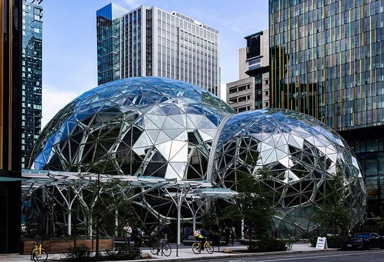 siedziba firma Amazon ciekawostki informacje Jeff Bezos